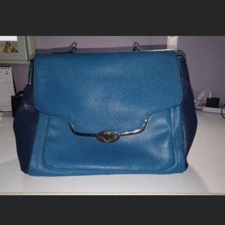 COACH Blue Sstchel Bag