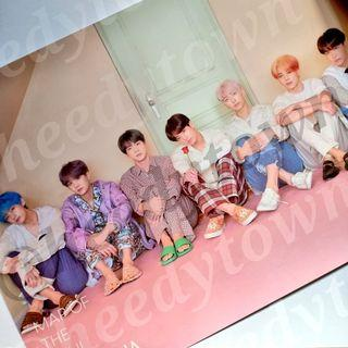 (READY STOCK) OFFICIAL BTS - MAP OF THE SOUL: PERSONA Poster (VER III)