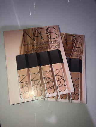 FREE NARS foundation samples