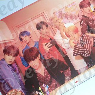 (READY STOCK) OFFICIAL BTS - MAP OF THE SOUL: PERSONA Poster (VER II)