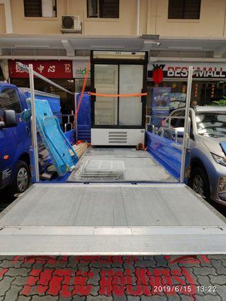 Chiller Fridge transport tailgate