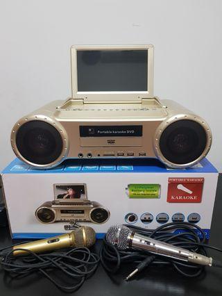 Portable Karaoke DVD Set
