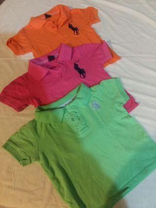 Bright t-shirts