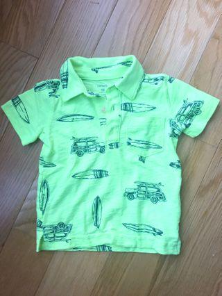 Carter's Surf Ride Polo Tee