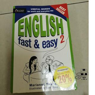 【English Book】English Learning Fast & Easy