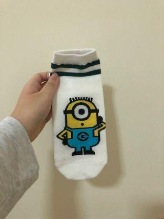 MINION socks😻