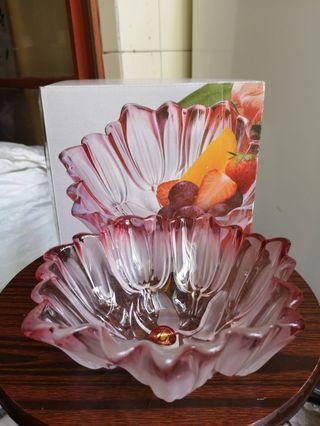 玻璃生果盤 walther glas sylvia