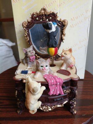 可愛貓仔音樂盒music box