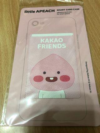 (現貨) kakao friends apeach 手機背貼卡套 上海限定非賣品
