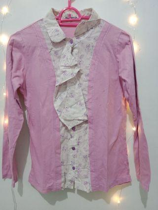 Formal purple blouses