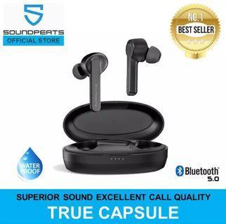 Soundpeats TrueCapsule & TrueFree+ 1year local warranty
