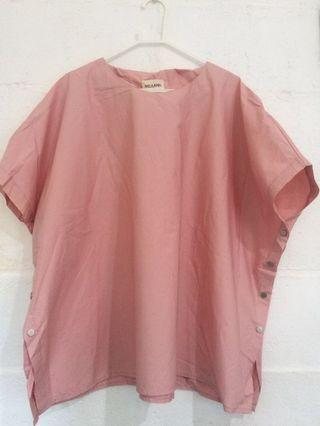 [PRELOVED] THIS IS APRIL: ALL SIZE PINK TOP!
