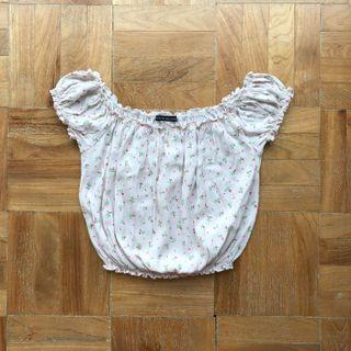 Brandy Melville Rio Top in Pink Floral