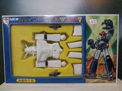 超力電磁俠組裝模型  非 V形 萬能俠 超合金 大膠 Popy