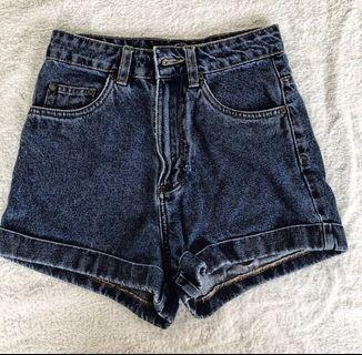 [INSTOCK] High Waisted Denim Shorts Factorie
