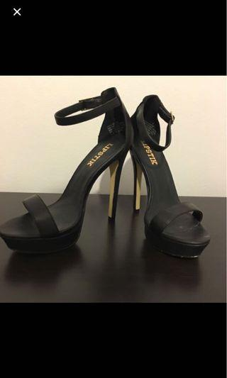 Black Lipstik Heels size 7