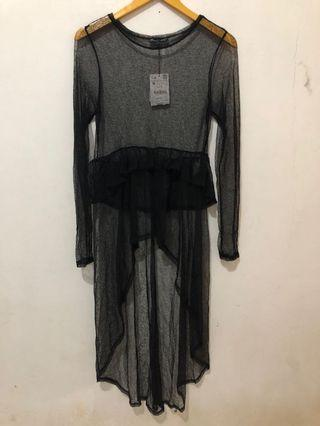 Zara Women See Through Dress
