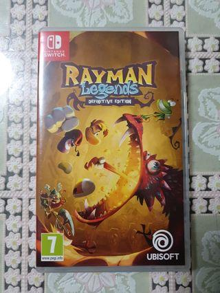 Rayman Legends Nintendo Switch game