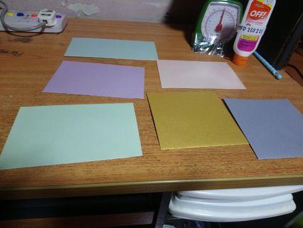 🚚 Colour Envelopes