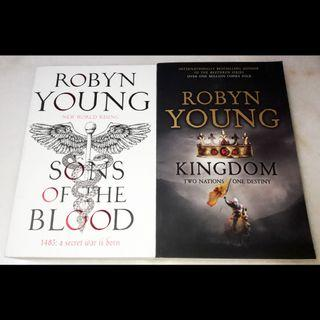 Sons of the blood and Kingdom by Robyn Young