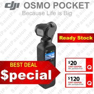 DJI Osmo Pocket (Ready Stock)