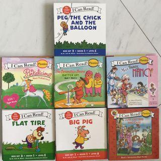 🚚 I Can Read Phonics Readers Books Series Sets Story Learning Education