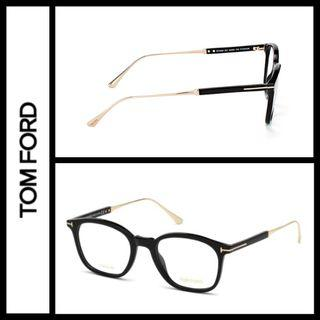 Tom Ford TF5484 acetate titanium mix eyeglasses