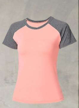 Sports Short Sleeve Top and Shorts Zumba