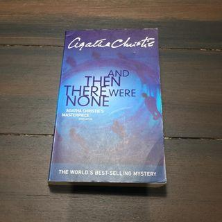 Novel Impor Murah - Agatha Christie - And Then There Were None