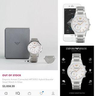 ⌚️NEW - Emporio Armani Men's Hybrid-Smart Watch ART3005 🌟包順豐智能櫃自取🌟