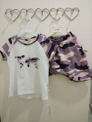 [Free Shipping] New with tag! Premium Branded Marc & Janie Baby Kids Girl Summer Set (3T)
