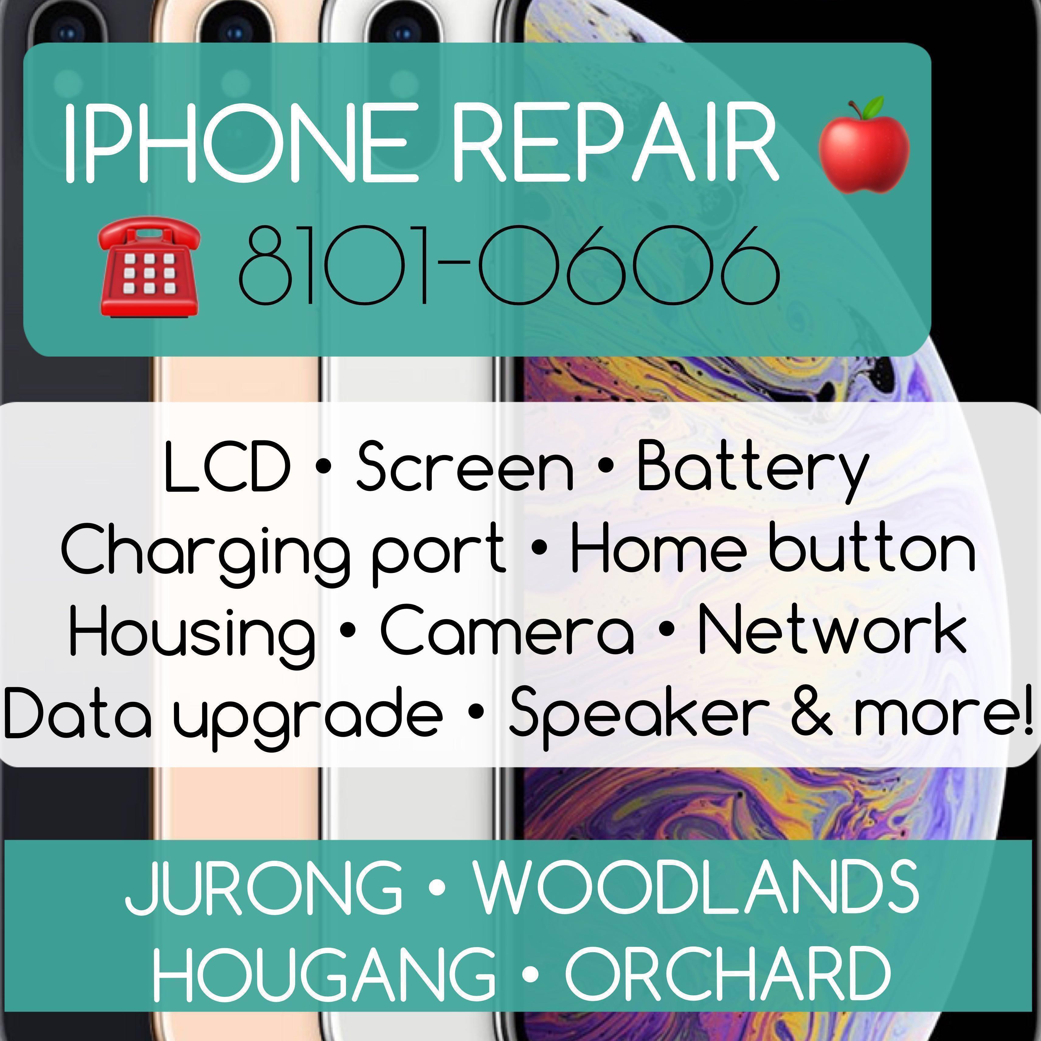 20min iPhone Repair, Screen LCD Crack Repair, Phone Repair