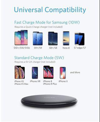 BN Anker 10w wireless charging pad