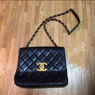Chanel vintage 大 cc logo 袋