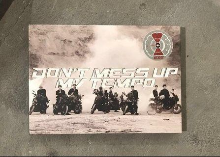 [URGENT WTS] exo don't mess up my tempo(moderato) album unsealed