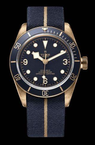 Tudor BLACK BAY BRONZE - Blue Edition