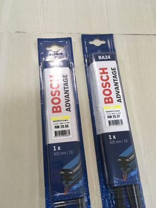 Bosch Long Life Tropical climate rubber wiper 24 and 16 inch
