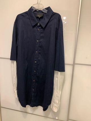 3.1 Phillip Lim 男裝假兩件恤衫