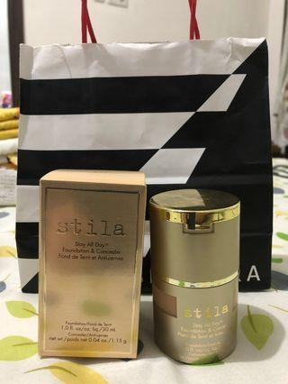 NEW Stila Stay all day foundation + concealer