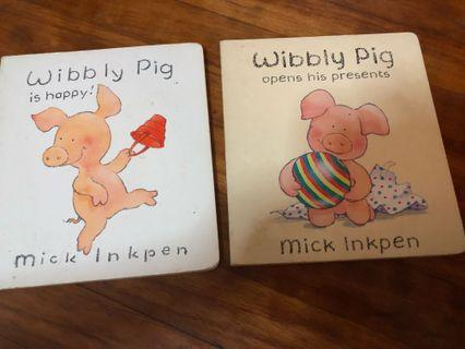 🚚 Wibbly Pig Baby / Toddler Books
