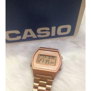 Casio Rose Gold Watch B640WC-5A Authentic