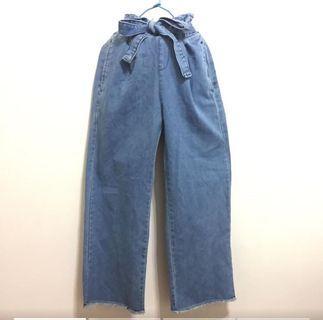 牛仔褲、寬口褲