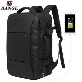 🔥PO🔥 Men Laptop Backpack Travel Backpack Leisure Waterproof Outdoor Large Capacity School Bag #MRTJurongEast
