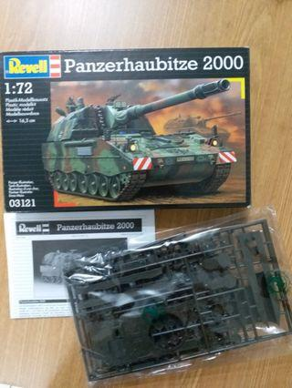 Revell 利華 Panzerhaubitze 2000 1:72 #03121