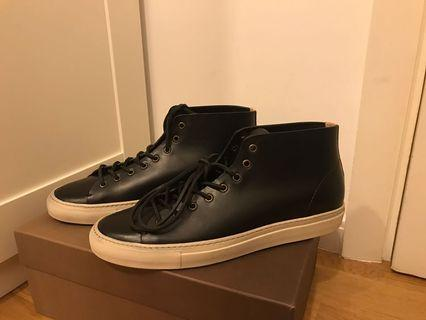 Buttero black leather sneakers 42.5