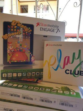 Starmobile engage 7+ bundle with android phone playclub