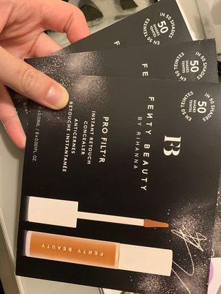 Fenty beauty by Rihanna instant retouch concealer x3