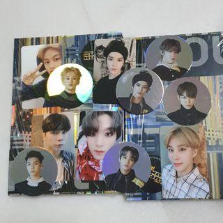 SALE NCT 127 WE ARE SUPERHUMAN PHOTOCARDS / CIRCLE CARD / UNSEALED ALBUM / POSTER