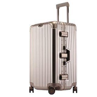 🚚 海關時尚造型行李箱