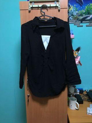 Black Formal / Casual Blouse